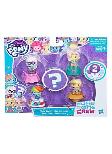 My Little Pony My Little Pony Cutie Mark Crew Koleksiyon Seti Renkli
